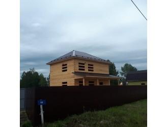 14.Дом 7х9 построили летом.