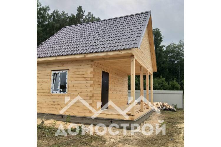 Дом из бруса для дачи 6х4.