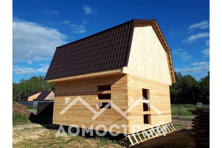 Новости | Летом построили дом на винтовых сваях за 7 дней!