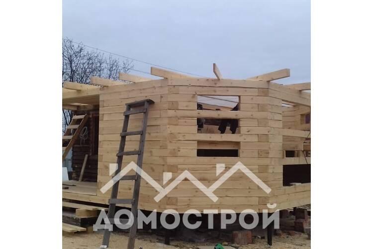 Реконструкция дома за 1 неделю. Демонтаж старого дома , строительство пристроя.