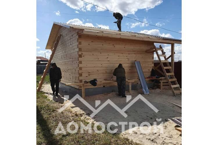Строительство  бани  в Тюмени. Домострой72