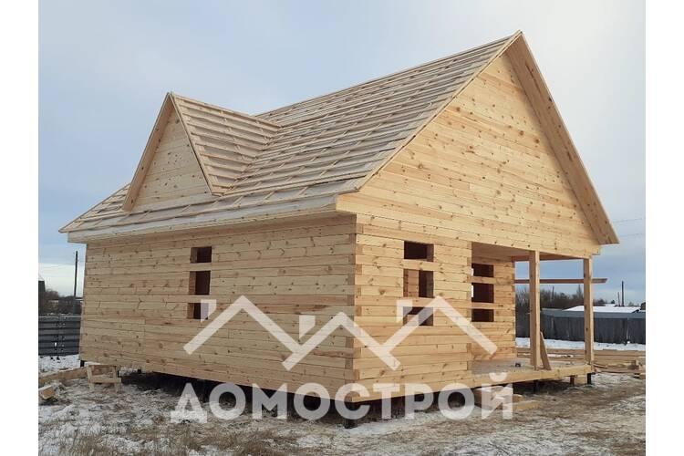 Строим дом 8х9