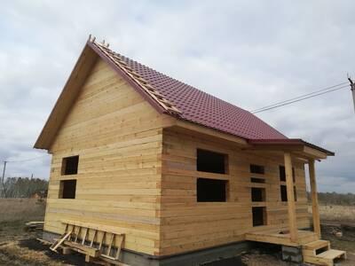 Дом из бруса 6х4