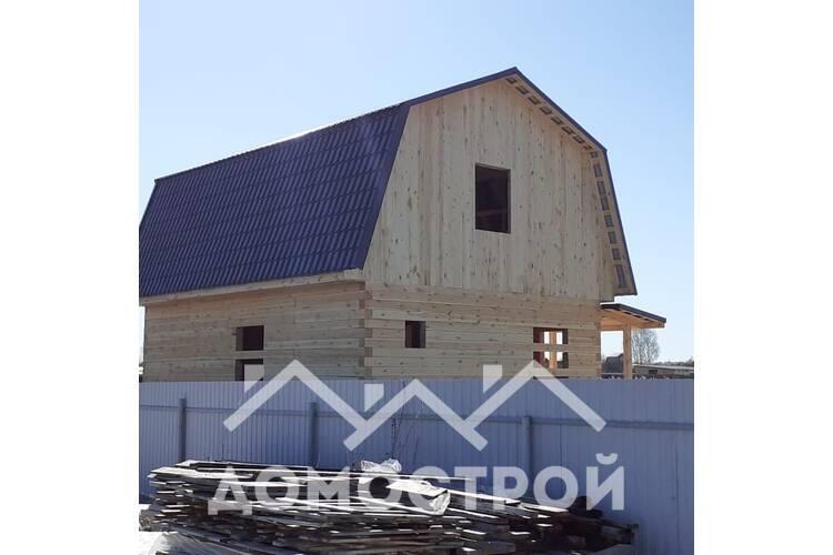В марте 2020 построили дом 6 х8 с крыльцом 1.5х2 м. По проекту Д-21