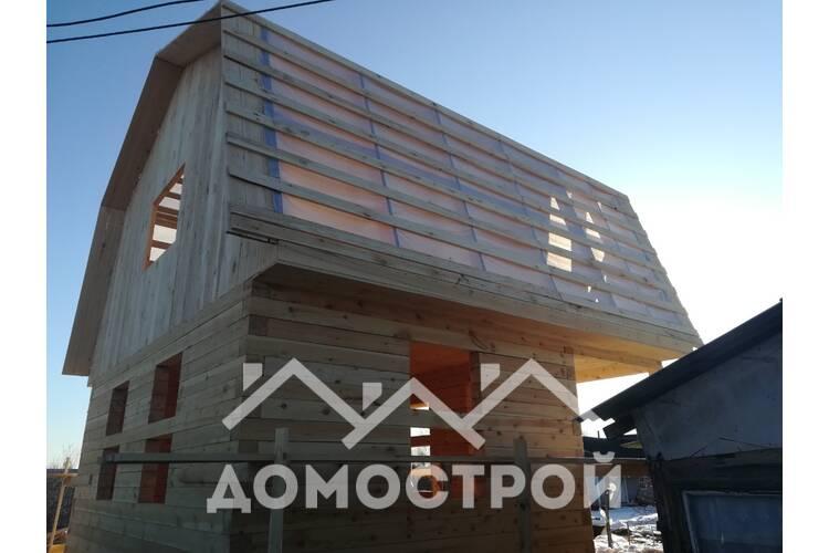 Дом 6х 4 с террасой 2х6