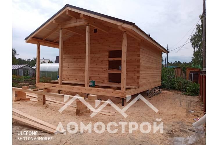 строительство дома из бруса 150х150 в Тюмени за 10 дней .