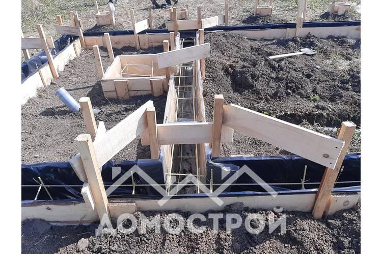 строительство ленточного фундамента Тюмень