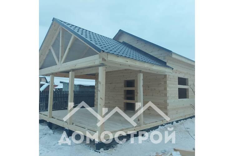 Строительство бани на винтовых сваях|Домострой 72