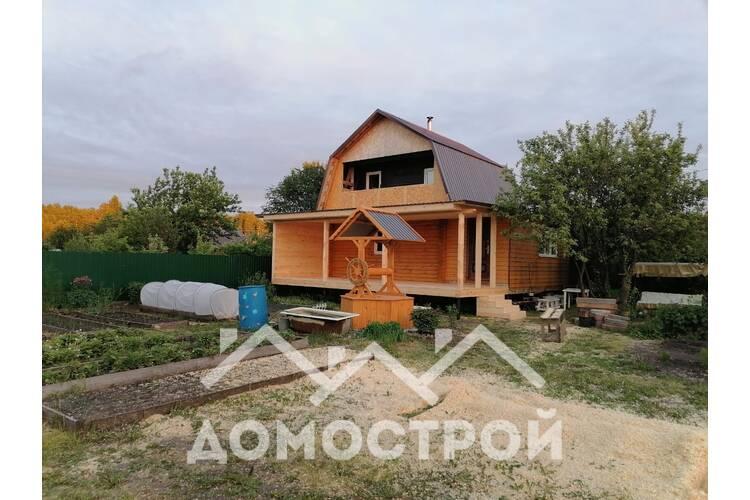 дом из бруса под ключ 6х8 с террасой