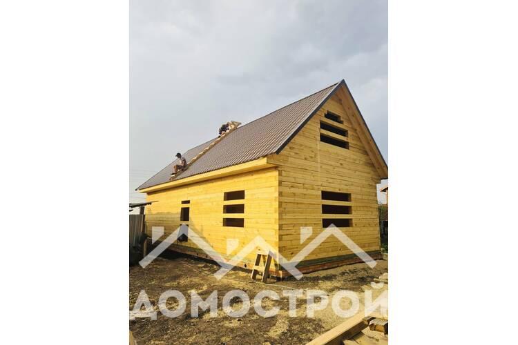 строительство дома под усадку