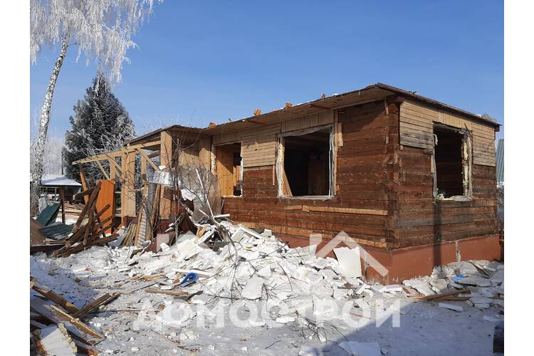 Демонтаж дома! Строительство дома Тюмень