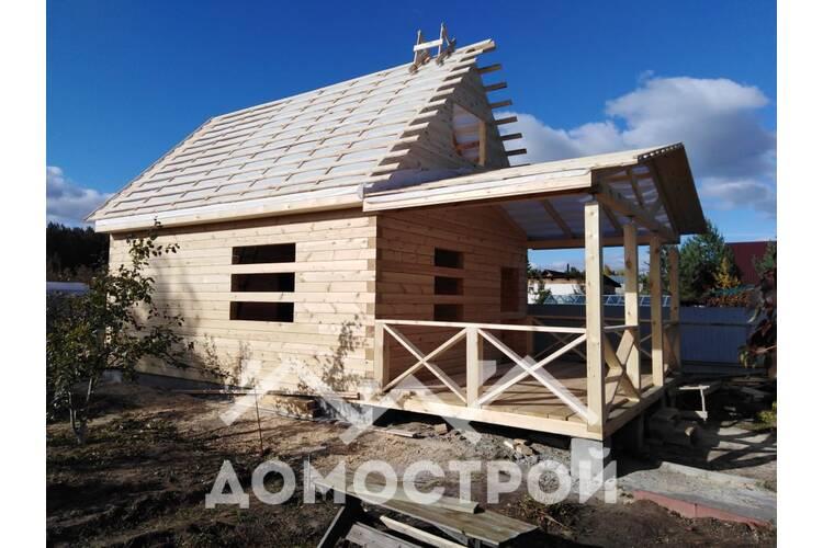 Деревянные дома и бани в Тюмени