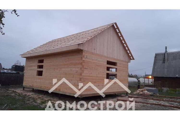 Деревянный дом в Тюмени