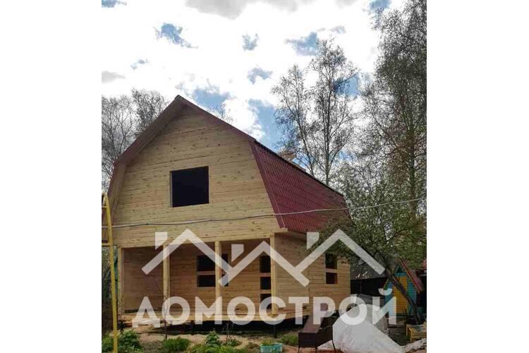 Построили дом из бруса 7.5х6