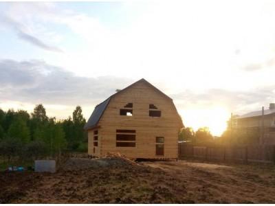 Дом из бруса 8х8