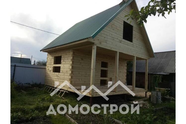 Дом 6х6 на Московсом тракте построен!| Домострой72