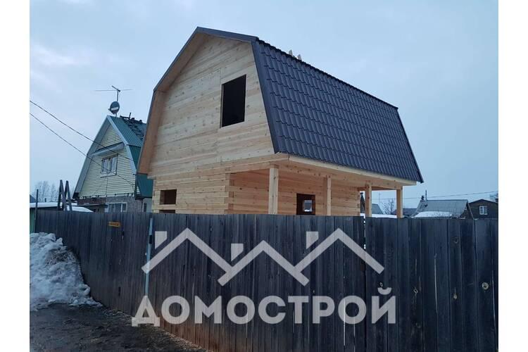 Уютный, экономный, а глвное экологичный дом получился.