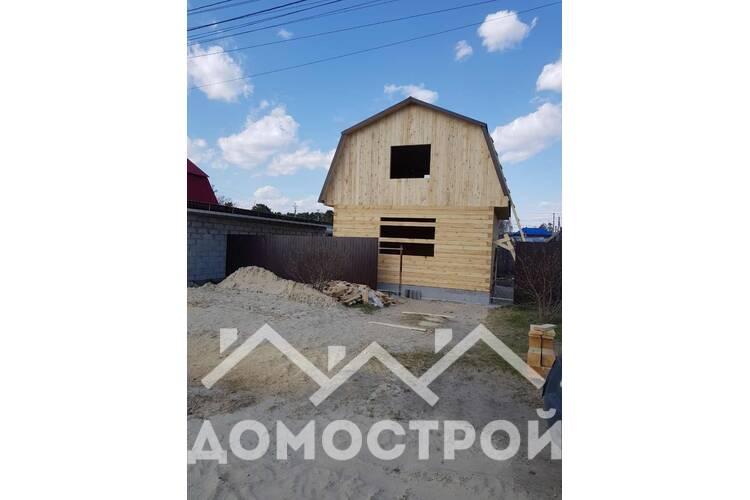 Дом из бруса 6х6 построили за 7 дней!