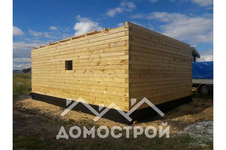 Строим баню 6х6 на Московском тракте! | Домострой72