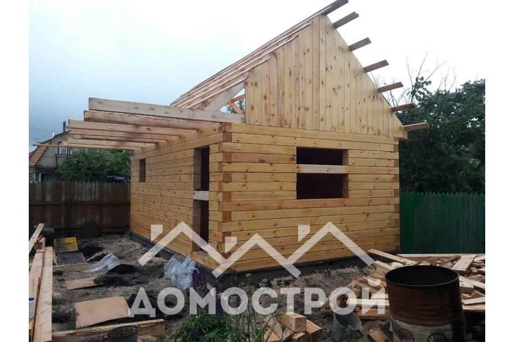 Строим баню 6х4 на Московском тракте. | Домострой72