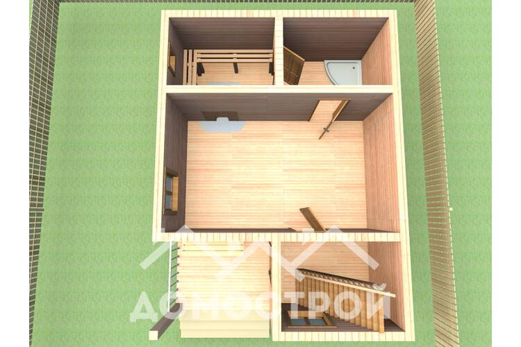 Дом-Баня Н-2