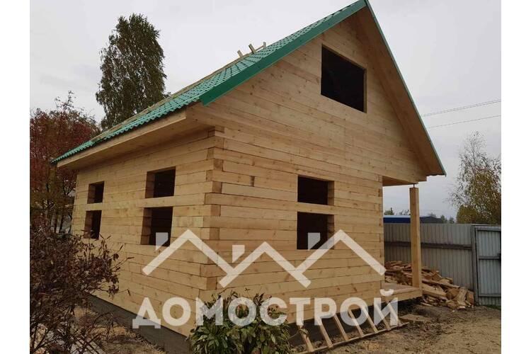 Дом 6х6 из бруса построили за 7 дней!