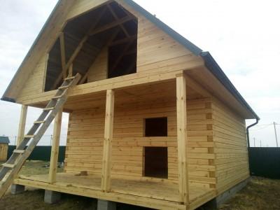Дом 6х6 с террасой 6х2