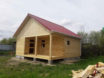 Дом 6х4  с террасой 6х2