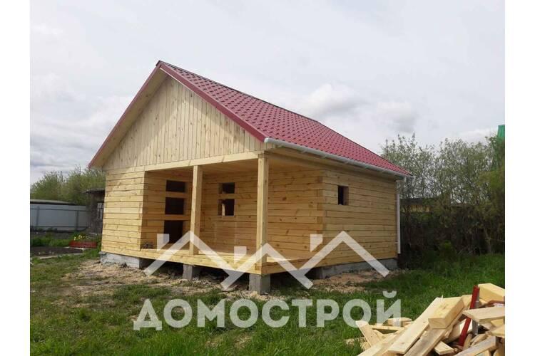 Построен дом в д.Упорова.| Домострой72