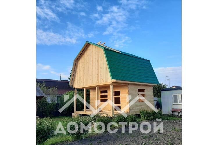 Дом 6х 4 плюс террасса 2х6|Домострой72
