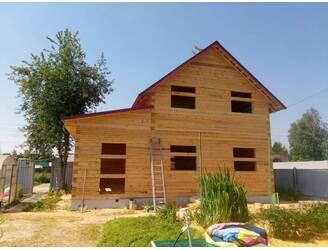 6.Дом 6х9 построили и утеплили.