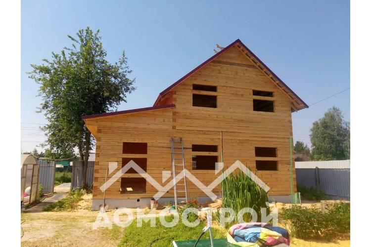 Дом 6х9 построили и утеплили.