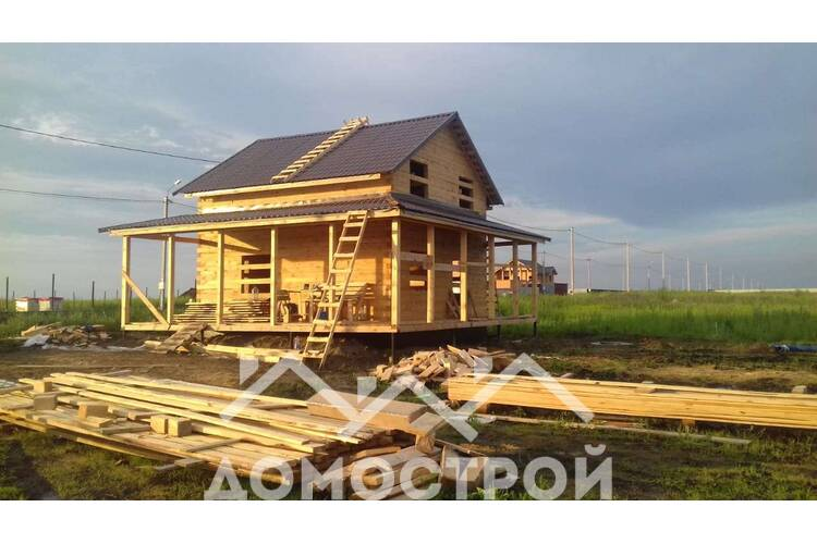 Построили дом по проекту ДПП-105
