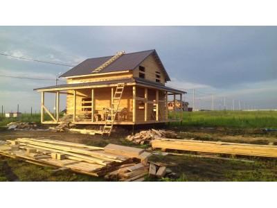 Дом из бруса по проекту ДПП-105