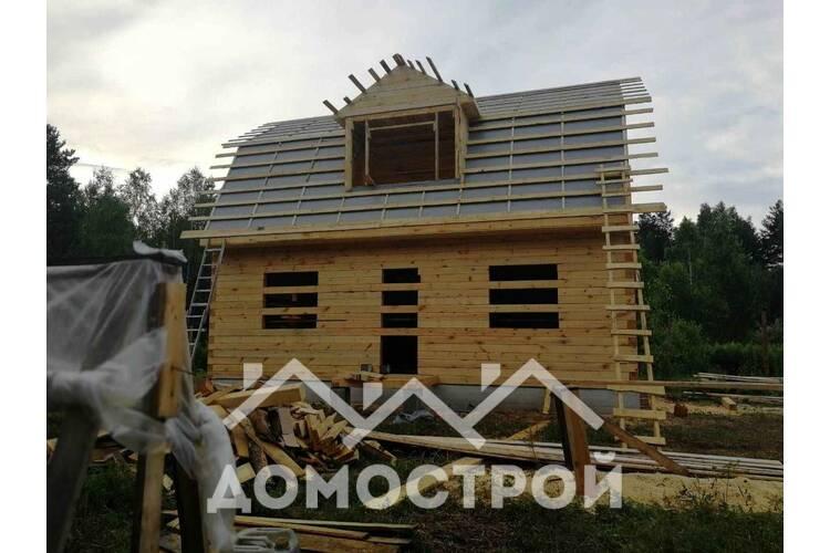 Закончили строительство дома по ппроекту Д-14 размером 6х9