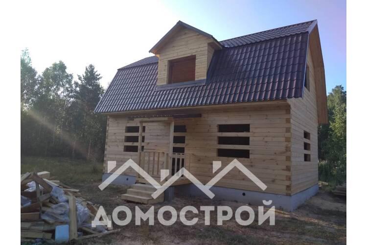12.Закончили строительство дома по ппроекту Д-14 размером 6х9