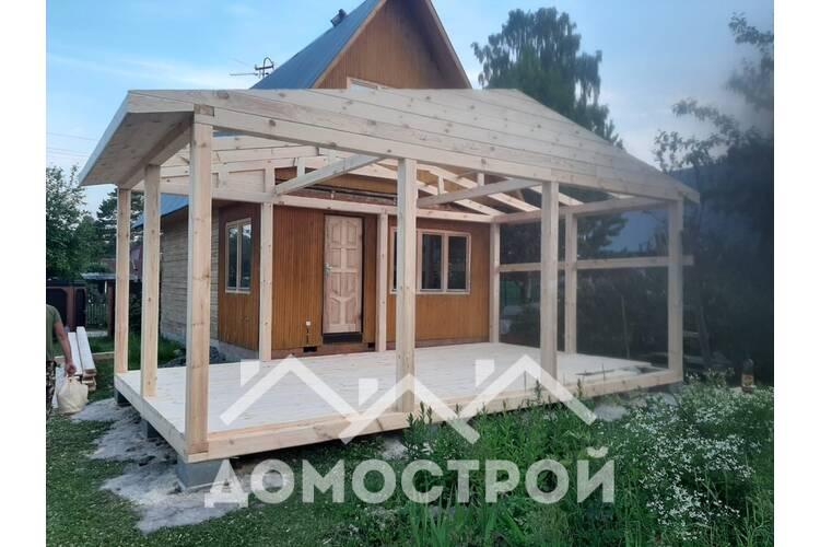 Строим террасу 4х7|Домострой72