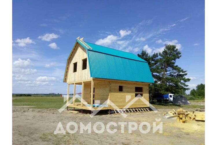 Дом из бруса в г. Исетске.| Домострой72