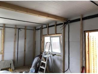 Как правильно утеплить стены дома из бруса?