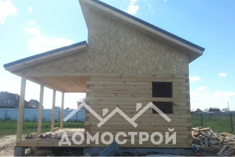 Закончили проект бани 6х4 в Антипино| Домострой72