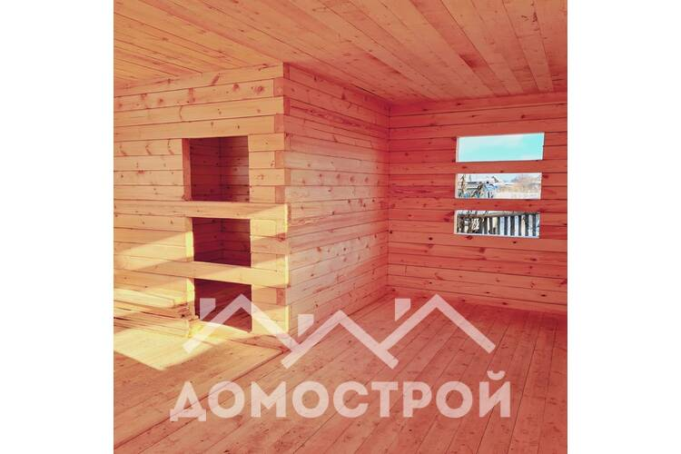 Новости | 36. Закончили строительство дома 6х9. Терраса 3х6.