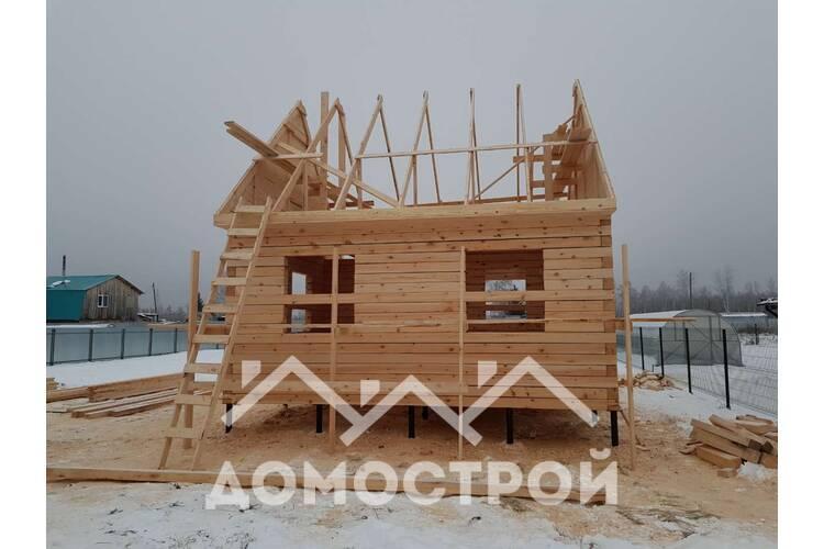 Дом 6х6 в СНТ Строитель построен.