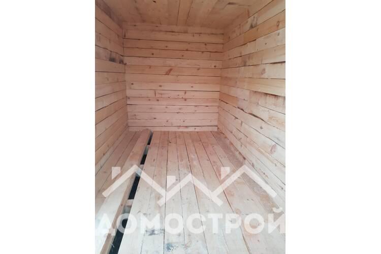 Успели построить баню на ленточном фундаменте в ноябре.