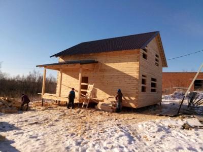 Дом из бруса 9х9 в Тобольске