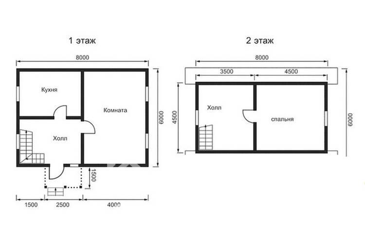 Дом из бруса ДП-108