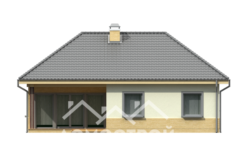 Дома из блоков | Б-5