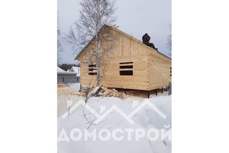 Дом из бруса 10х9, 90 кв. за 10 дней