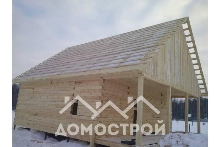 Построили очередной уютный и практичный дом