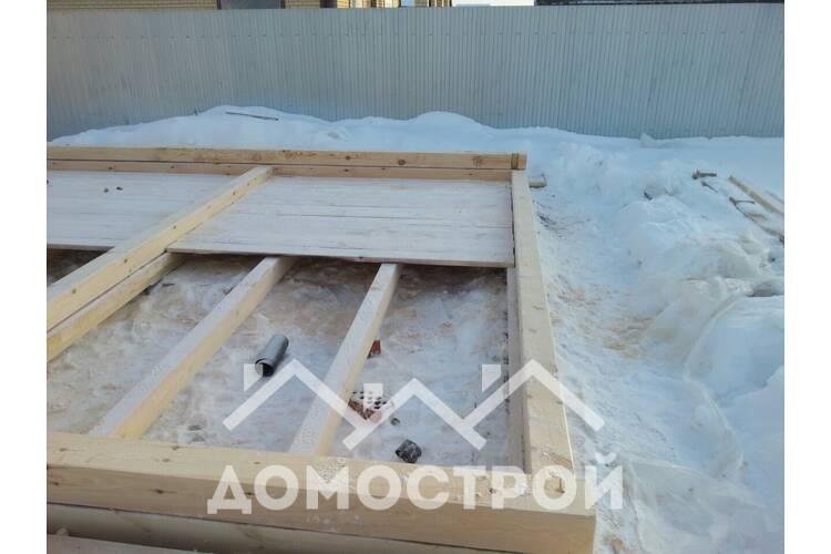 Новости | Построили баню 6 на 7 с террасой