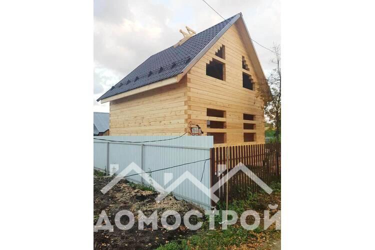 Построили двухэтажный дом 6х6!